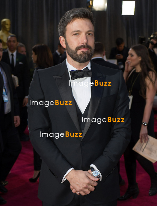 Ben Affleck arriving for the 85th Academy Awards at the Dolby Theatre, Los Angeles.