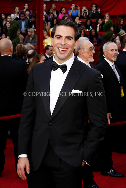 WWW.ACEPIXS.COM . . . . .  ....March 7 2010, Hollywood, CA....Actor Eli Roth at the 82nd Annual Academy Awards held at Kodak Theatre on March 7, 2010 in Hollywood, California.....Please byline: Z10-ACE PICTURES... . . . .  ....Ace Pictures, Inc:  ..Tel: (212) 243-8787..e-mail: info@acepixs.com..web: http://www.acepixs.com
