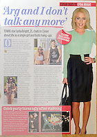 Closer Magazine<br /> Lydia Bright by CAN<br /> 41339<br /> tearsheet