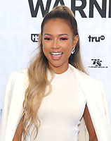 NEW YORK, NY - MAY 15: Karrueche Tran attends the 2019 WarnerMedia Upfront presentation at Madison Square Garden   on May 15, 2019 in New York City.        <br /> CAP/MPI/JP<br /> ©JP/MPI/Capital Pictures