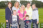 FUN DAY: Enjoying the fun at the Camp Cash Cow at the Camp Community Centre on Sunday l-r: Annette Shine, Heike Shine, Dylan Hayes, Polina Hayes, Ruby Shine, Nathan Kelly and Natasha Hayes.