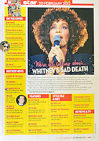 Star Magazine<br /> Whitney Houston by PL<br /> 41253<br /> tearsheet