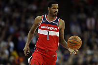17th January 2019, The O2 Arena, London, England; NBA London Game, Washington Wizards versus New York Knicks; Trevor Ariza of the Washington Wizards