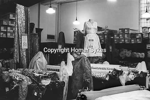Derry and Toms the department store in Kensington High Street London 1968...