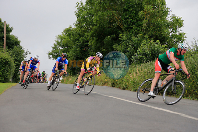 Drogheda Wheelers Brendan Campbell memorial race heading for Donore.<br /> Picture: www.newsfile.ie