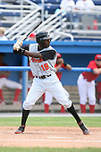July 14th 2008:  Calvin Lester of the Aberdeen Ironbirds, Class-A affiliate of the Baltimore Orioles, during a game at Dwyer Stadium in Batavia, NY.  Photo by:  Mike Janes/Four Seam Images