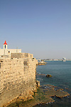 Israel, Acco, St. John Church by the Old City wall