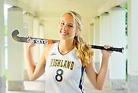 2012 Highland School Girls Athlete of the Year Hannah Smith.