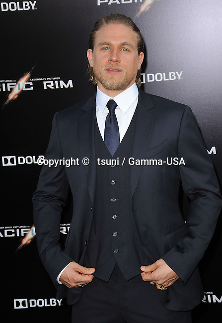 a_Charles Hunnam 031 at the Pacific Rim Premiere at the Dolby Theatre In Los Angeles.