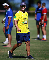 DURBAN, SOUTH AFRICA -Monday February 18th: Leon MacDonald (head coach) of the Blues during the Blues Training at Northwood School Durban North, on February 18th, 2019 in Durban, South Africa. Photo by Steve Haag / stevehaagsports.com