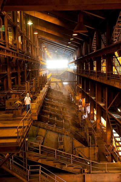 Congonhas_MG, Brasil...Industria siderurgica (CSN) em Congonhas, Minas Gerais...Steel industry (CSN) in Congonhas, Minas Gerais...Foto: JOAO MARCOS ROSA / NITRO