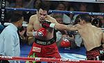 Sergio Martinez gano por desicion unanime a Julio Cesar Chavez JR Ganando el campeonato  de peso mediano del WBC