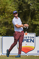 Lanto Griffin (USA) watches his tee shot on 2 during round 4 of the 2019 Houston Open, Golf Club of Houston, Houston, Texas, USA. 10/13/2019.<br /> Picture Ken Murray / Golffile.ie<br /> <br /> All photo usage must carry mandatory copyright credit (© Golffile | Ken Murray)