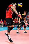 14.09.2019, Paleis 12, BrŸssel / Bruessel<br />Volleyball, Europameisterschaft, Deutschland (GER) vs. Belgien (BEL)<br /><br />Annahme Ruben Schott (#3 GER)<br /><br />  Foto © nordphoto / Kurth