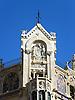 Detail of the Gran Hotel Weyler (1902), today La Caixa Foundation, by the catalan architect Dom&eacute;nech i Montaner with ceramic tiles by the La Roqueta fabric<br /> <br /> Detalle de la fachada del Gran Hotel Weyler (1902), hoy Fundaci&oacute;n La Caixa, del arquitecto catal&aacute;n Dom&eacute;nech i Montaner (cast.: Dom&eacute;nech y Montaner) con azulejos de la f&aacute;brica La Roqueta<br /> <br /> Detail der Fassade des Gran Hotel Weyler (1902), heute La Caixa Stiftung, von dem katalanischen Architekten Dom&eacute;nech i Montaner mit Keramikkacheln der La Roqueta Fabrik<br /> <br /> 2272 x 1704 px<br /> 150 dpi: 38,47 x 28,85 cm<br /> 300 dpi: 19,24 x 14,43 cm