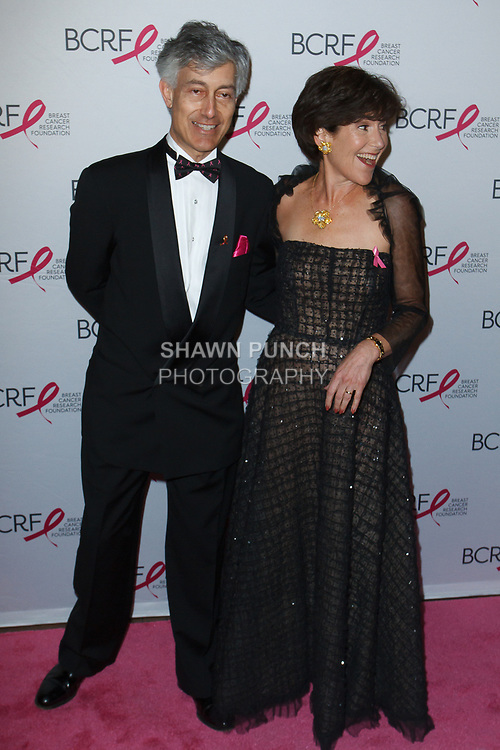 "Gary and Laura Lauder attend The Breast Cancer Research Foundation ""Super Nova"" Hot Pink Party on May 12, 2017 at the Park Avenue Armory in New York City."