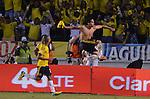 BARRANQUILLA – COLOMBIA _ 11-10-2013 / La selección colombiana de fútbol empató 3 – 3 con su similar de Chile por la decimoséptima jornada de la eliminatorias rumbo al mundial de Brasil 2014/ Radamel 'Falcao' García celebra el tercer tanto de la Selección Colombia.