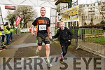 James Daley and his son Stuart runners at the Kerry's Eye Tralee, Tralee International Marathon and Half Marathon on Saturday.