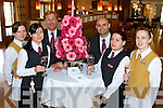 1ST BIRTHDAY: Pictured at the first birthday celebrations at the Fels Point hotel on Sunday were staff members l-r: Ewelina Dytkowska, Edita Lucun, Andrew Jackson, Miguel Barrero, Audrea Gulkai and Anna Szeszula.   Copyright Kerry's Eye 2008