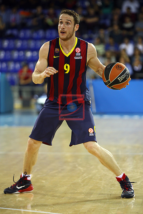 Euroleague Basketball-Regular Season Round 5.<br /> FC Barcelona vs Panathinaikos Athens: 78-69.<br /> Marcelinho Huertas.