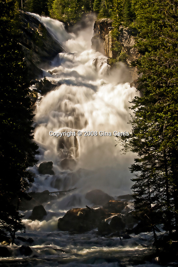Hidden Falls, Grand Tetons, Wyoming