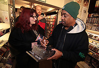 Public Enemy - Record Collector - Sheffield 2015