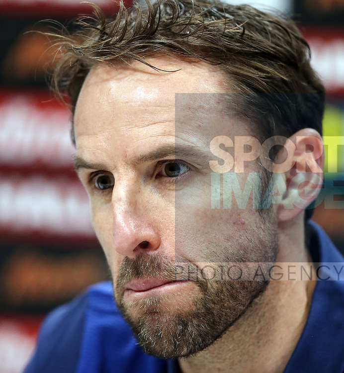 England's Gareth Southgate during his press conference at Tottenham Hotspur training centre, London. Picture date November 14th, 2016 Pic David Klein/Sportimage
