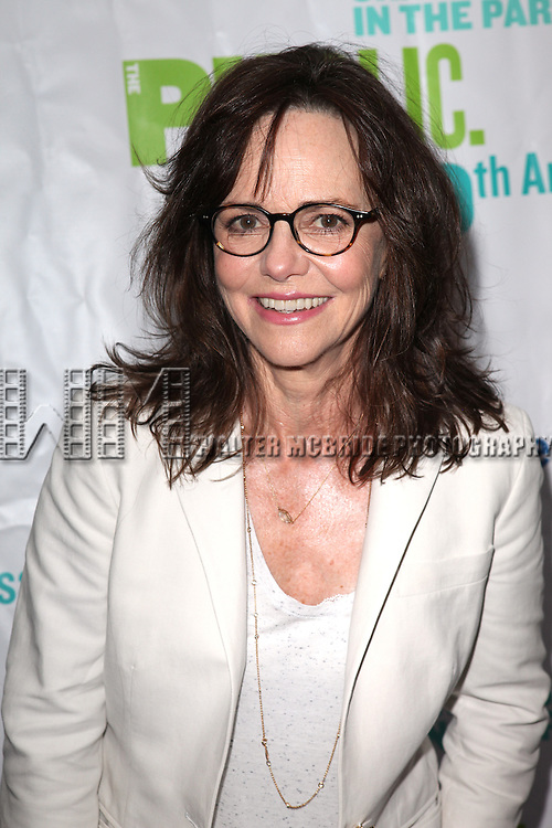 Actress Sally Field attending the Opening Night Performance of The Public Theater's 'InTo The Woods' at the Delacorte Theater in New York City on 8/9/2012. © Walter McBride/WM Photography