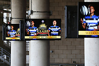 A general view of digital signage. The Clash, Aviva Premiership match, between Bath Rugby and Leicester Tigers on April 8, 2017 at Twickenham Stadium in London, England. Photo by: Rogan Thomson / JMP for Onside Images