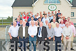 BALLYDUFF GAA HOSTS: The committee and delegates of the Kerry County Board making history by attending their monthly meeting hosted for the first time by Ballyduff GAA club who won the only Munster and All-Ireland Senior Hurling Championship to date as part of celebrations of 125 of the GAA at the Ballyduff clubhouse on Monday.