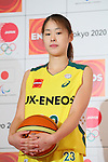 Mikoto Onuma (Sunflowers), <br /> MARCH 18, 2015 : <br /> JX Nippon Oil &amp; Energy has Press conference <br /> in Tokyo. <br /> JX Nippon Oil &amp; Energy announced that <br /> it has entered into a partnership agreement with <br /> the Tokyo Organising Committee of the Olympic and Paralympic Games. <br /> With this agreement, JX Nippon Oil &amp; Energy becomes the gold partner. <br /> (Photo by YUTAKA/AFLO SPORT)