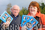 CHARITY DVD: ??? and Frances Kennedy of the Gleannaphuca Ramblers with their new DVD of a recent concert in Listowel which is not on sale for charity.