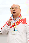 Koji Ueno, APRIL 21, 2013 : The Building up Team Japan 2013 for Sochi at Ajinomoto NTC, Tokyo, Japan. (Photo by AFLO SPORT)