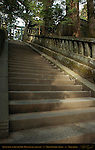 Monolithic Stone Steps to Okusha Inner Shrine Nikko Toshogu Shrine Nikko Japan