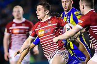 Picture by Alex Whitehead/SWpix.com - 09/03/2017 - Rugby League - Betfred Super League - Warrington Wolves v Wigan Warriors - Halliwell Jones Stadium, Warrington, England - Wigan's Morgan Escare in action.
