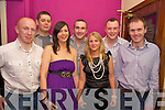 Enjoying the Killarney Plastics Christmas party in The Silver Fox restaurant on Friday night were James Butler, Eric McKinley, Imelda Healy, Tim Murphy, Sarah McArdle, Robbie Larkin and Joe Cronin.   Copyright Kerry's Eye 2008