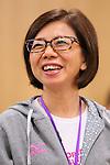 Yoshiko Kobayashi, APRIL 21, 2013 : The Building up Team Japan 2013 for Sochi at Ajinomoto NTC, Tokyo, Japan. (Photo by AFLO SPORT)