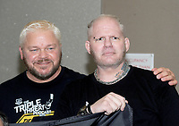 NEW YORK, NY - NOVEMBER 4: Shane Douglas and Raven  attends the Big Event NY at LaGuardia Plaza Hotel on November 4, 2017 in Queens, New York.  Credit: George Napolitano/MediaPunch /NortePhoto.com