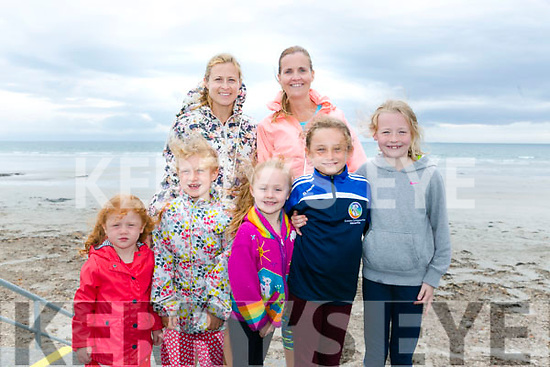 At the Ballyheigue Summer Festival King of the Beach Run on Monday were  Lilly O Driscoll, Caitiona O'Driscoll, Alannah O'Brien, Clodagh O'Brien, Aisling O'Discoll, Mary Ellen O'Driscoll and Karen O'Brien