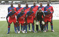 Haiti Starting Eleven. Honduras defeated Haiti 1-0 during the First Round of the 2009 CONCACAF Gold Cup at Qwest Field in Seattle, Washington on July 4, 2009.