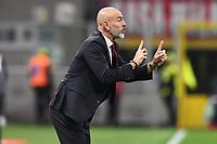Stefano Pioli coach of AC Milan <br /> Milano 20/10/2019 Stadio Giuseppe Meazza <br /> Football Serie A 2019/2020 <br /> AC Milan - Lecce <br /> Photo Image Sport / Insidefoto