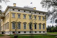 Wörlitzer Schloss, Parkanlage Wörlitzer Garten, Sachsen-Anhalt, Deutschland, Europa, UNESCO-Weltkulturerbe<br /> Wörlitz Palace, Wörlitz Gardens, Saxony-Anhalt, Germany, Europe, UNESCO-World Heritage