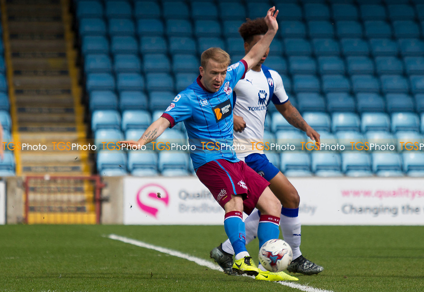 Paddy Madden of Scunthorpe during Scunthorpe United vs Chesterfield, Sky Bet EFL League 1 Football at Glanford Park on 17th April 2017