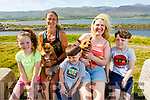 Taking part in the Kerry Hospice 5k Walk on Saturday in Lohercannon.<br /> Sarah and Therese Greaney, Tadgh, Olive and Cian Heaphy with Bella and Rex the dogs.