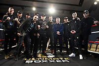 General view of the boxers during the Ultimate Boxxer Launch at the ME London Hotel on 5th February 2018