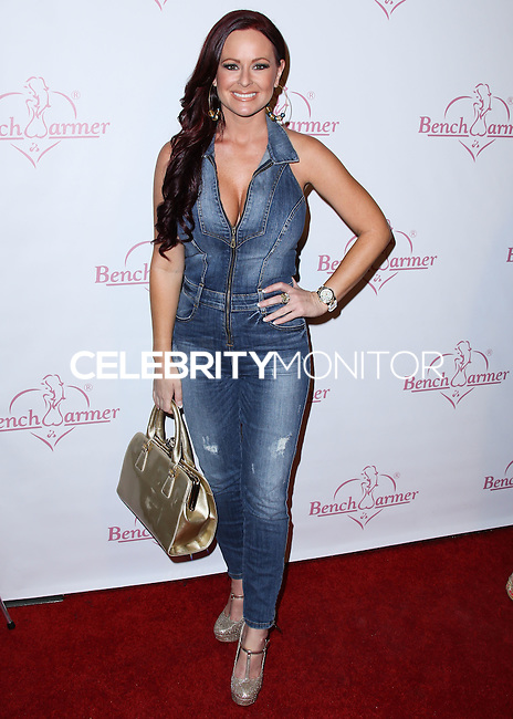 HOLLYWOOD, LOS ANGELES, CA, USA - AUGUST 28: Katie Lohmann arrives at the Benchwarmer Back To School Celebration to Benefit Children of the Night held at Station Hollywood at the W Hotel Hollywood on August 28, 2014 in Hollywood, Los Angeles, California, United States. (Photo by Xavier Collin/Celebrity Monitor)