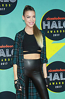 NEW YORK, NY - NOVEMBER 4:  Eva Shaw  at the 2017 Nickelodeon Halo Awards at Pier 36 in New York City on November 4, 2017. Credit: RW/MediaPunch /NortePhoto.com