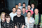 Laugh<br /> ---------<br /> Seamus Kelly (front centre) organised a comedy night in the Abbey Inn, Tralee last Friday in aid of Tina McElligott treatment fund, who is from Kilflynn and is currently in Spain receiving care for her condition.