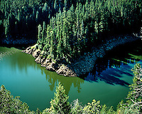The Blue Ridge Reservoir on the Mogollon Rim; Apache-Sitgreaves National Forest, AZ