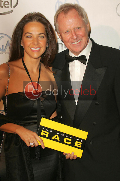 Elise Doganieri and Bertram van Munster<br />arriving at the 2006 Producers Guild Awards, Universal Hilton Hotel, Universal City, CA 01-22-06<br />Dave Edwards/DailyCeleb.com 818-249-4998